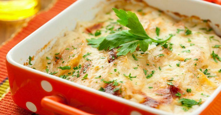 Рецепт картопляної запіканки з сиром